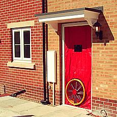 air testing kit front door