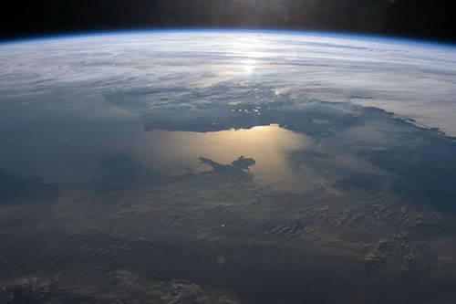 North Wales Atmosphere as seen from space