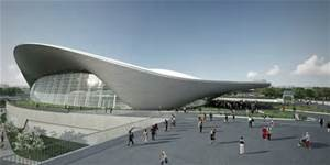 Zaha Hadid London Aquatic Center